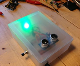 Ultrasonic Garage Parking Assistant with Arduino and an ATtiny85