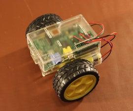 PiCy - The Tiny Raspberry Pi Powered Robot!