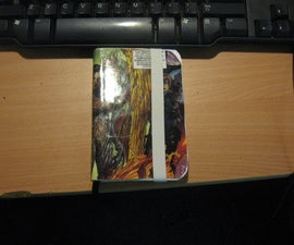 Comic Book Page Cover NoteBook