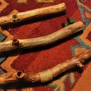 Wooden Pipe From a Stick