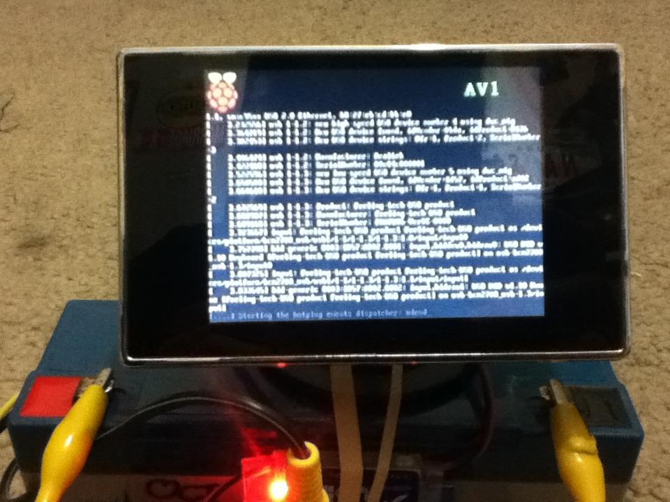 "Picture of ""Portable"" Raspberry Pi"