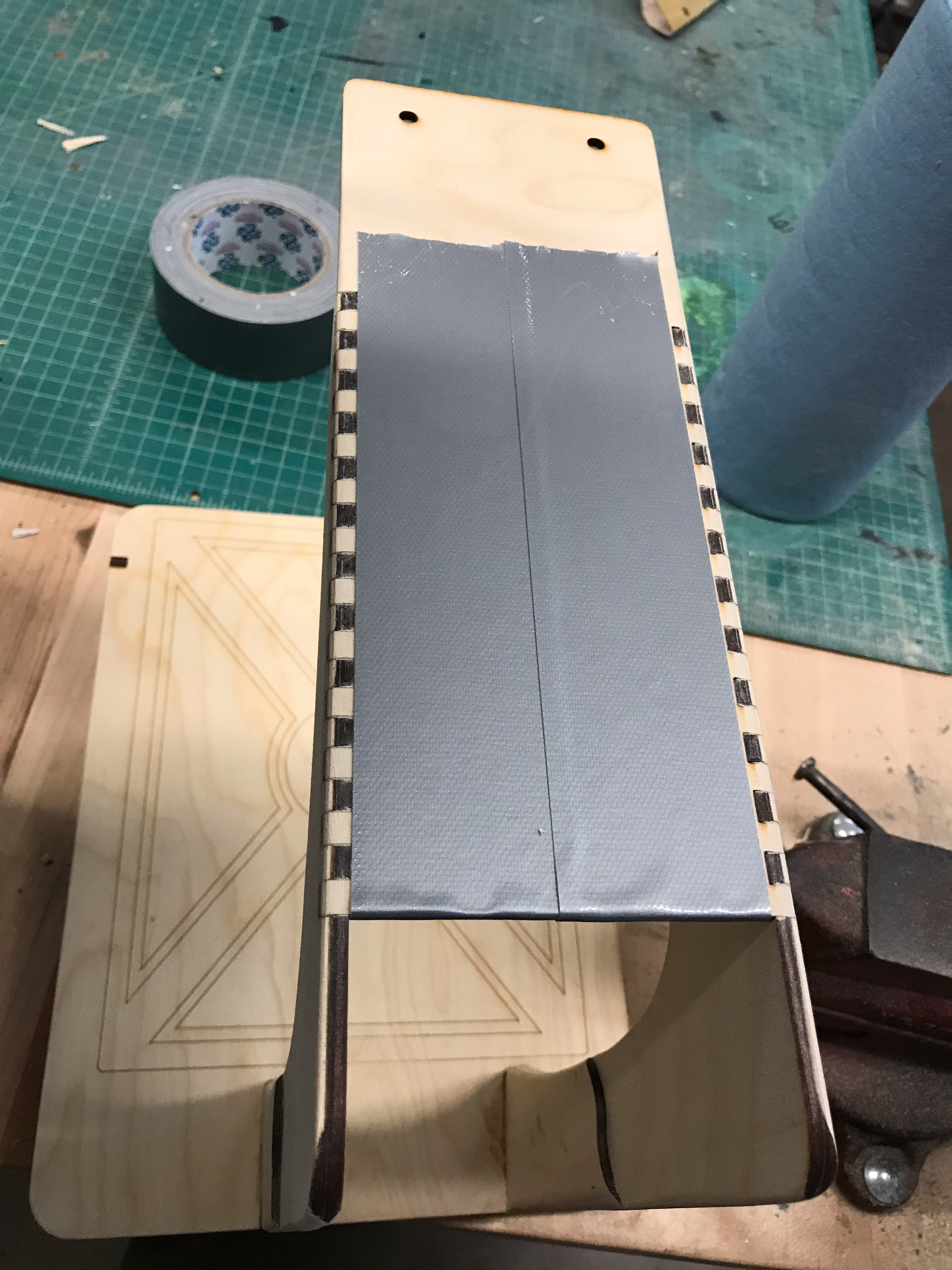 Picture of Add the Notched Top Plate.