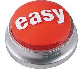 Make an Easy Button Tweet the Hard Way