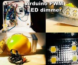 Arduino PWM LED Dimmer - 6x10W LED