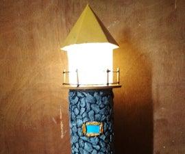 Mini Lighthouse Lamp 2