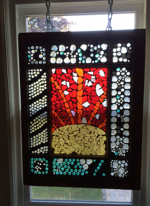 Picture of How to Make a Mosaic Glass  Window