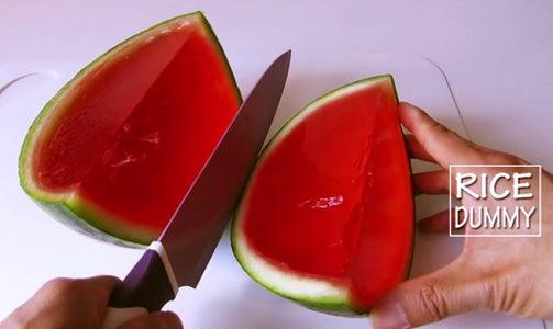 Step 4: Enjoy Watermelon Gummy