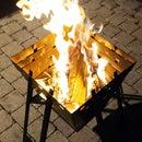 Portable / flatpack fire basket