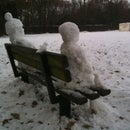 Realistic Snow People and Animals