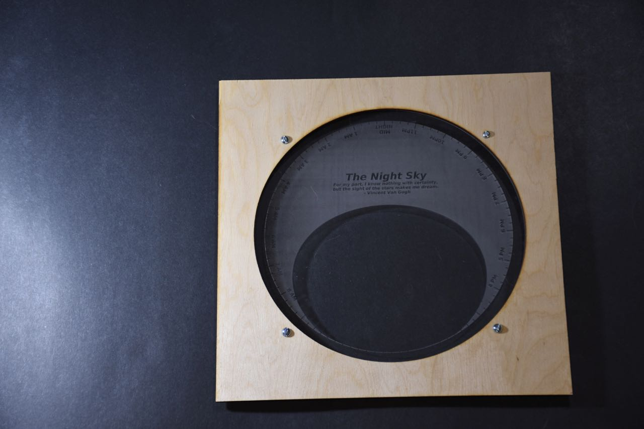 Picture of Begin to Assemble the Case for the Clock