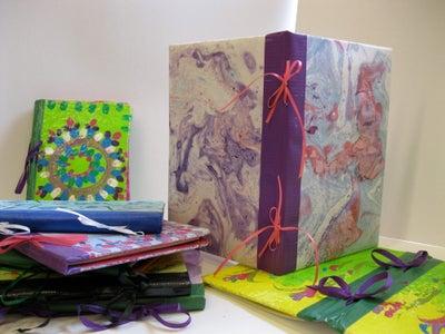 Journal (cardboard & Duct Tape)