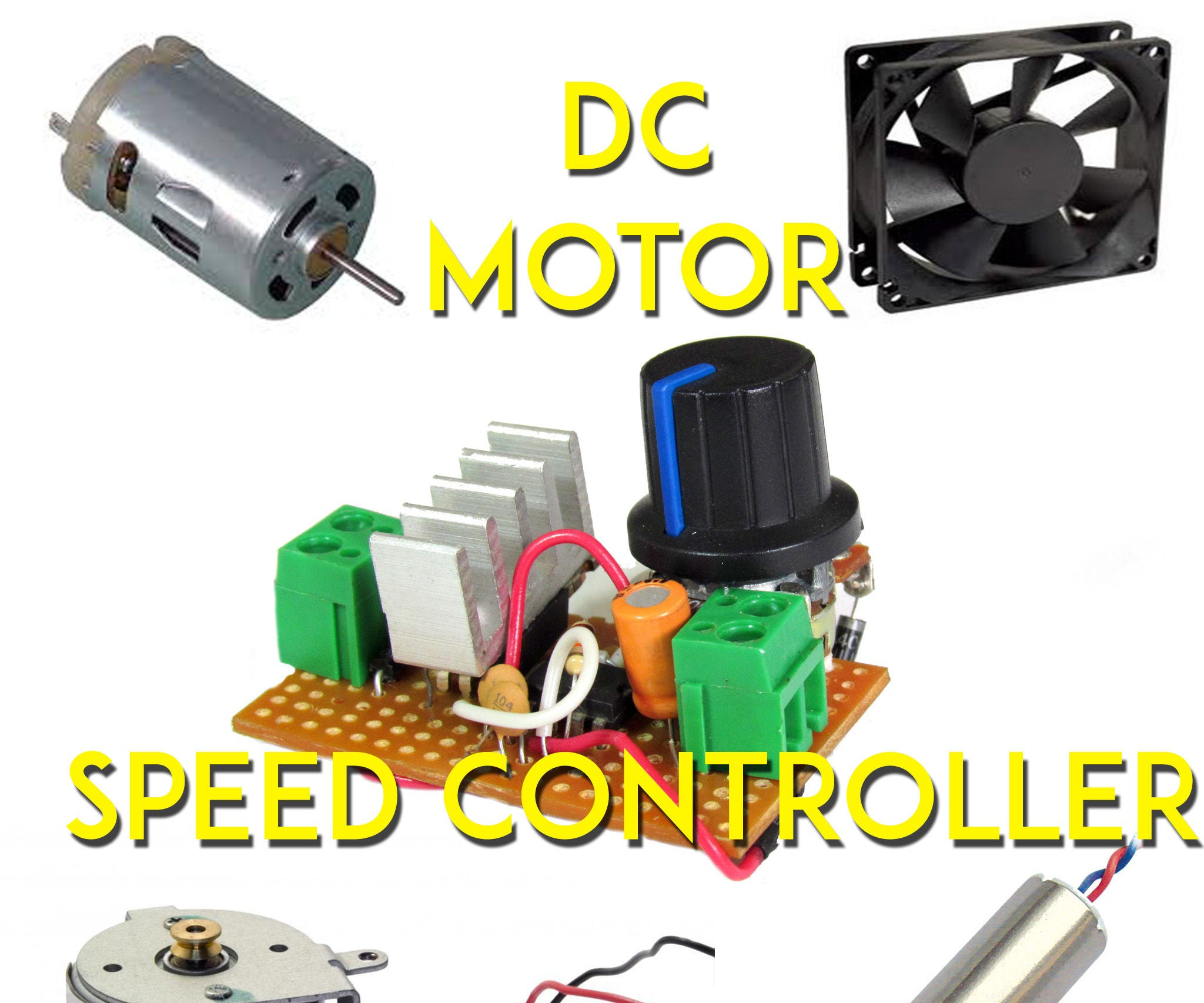 How To Make An Universal Dc Motor Speed Controller 5 Steps With Pwm Pulse Width Modulation For And Led Brightness Pictures
