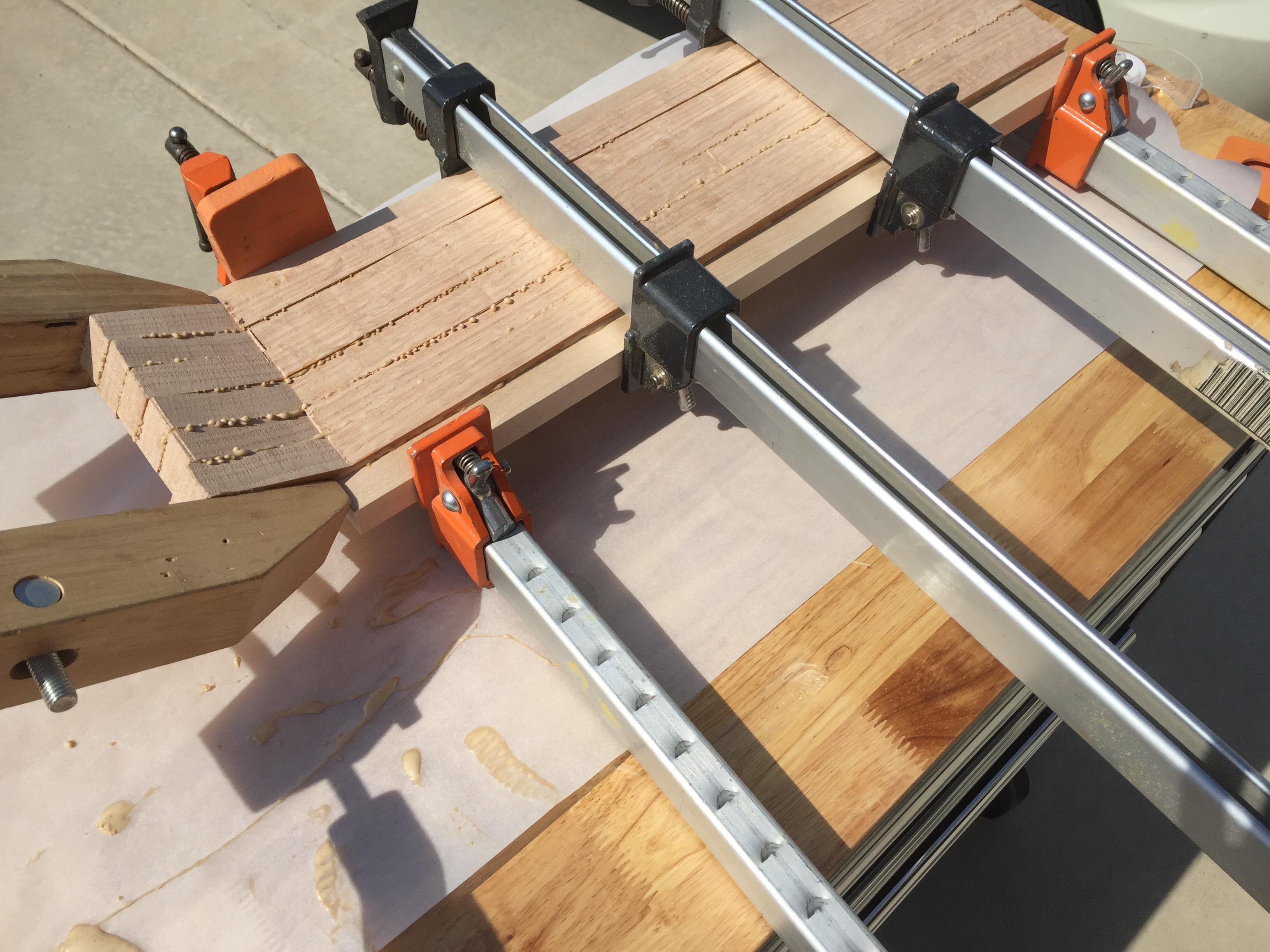 Picture of Glue Up Those 8 or So Slices