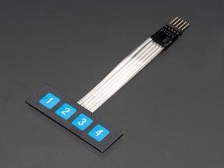 [DIAGRAM_5FD]  1x4 Membrane Keypad W/ Arduino : 4 Steps - Instructables | Membrane 1x4 Keypad Wiring Diagram |  | Instructables