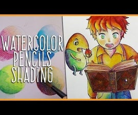 How to Use Watercolor Pencils: Shading Techniques for Beginners