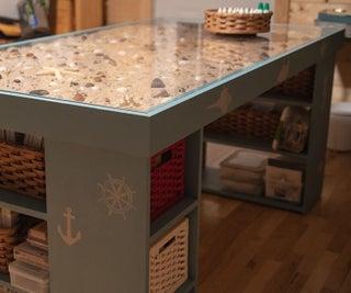 Seascape Craft Table