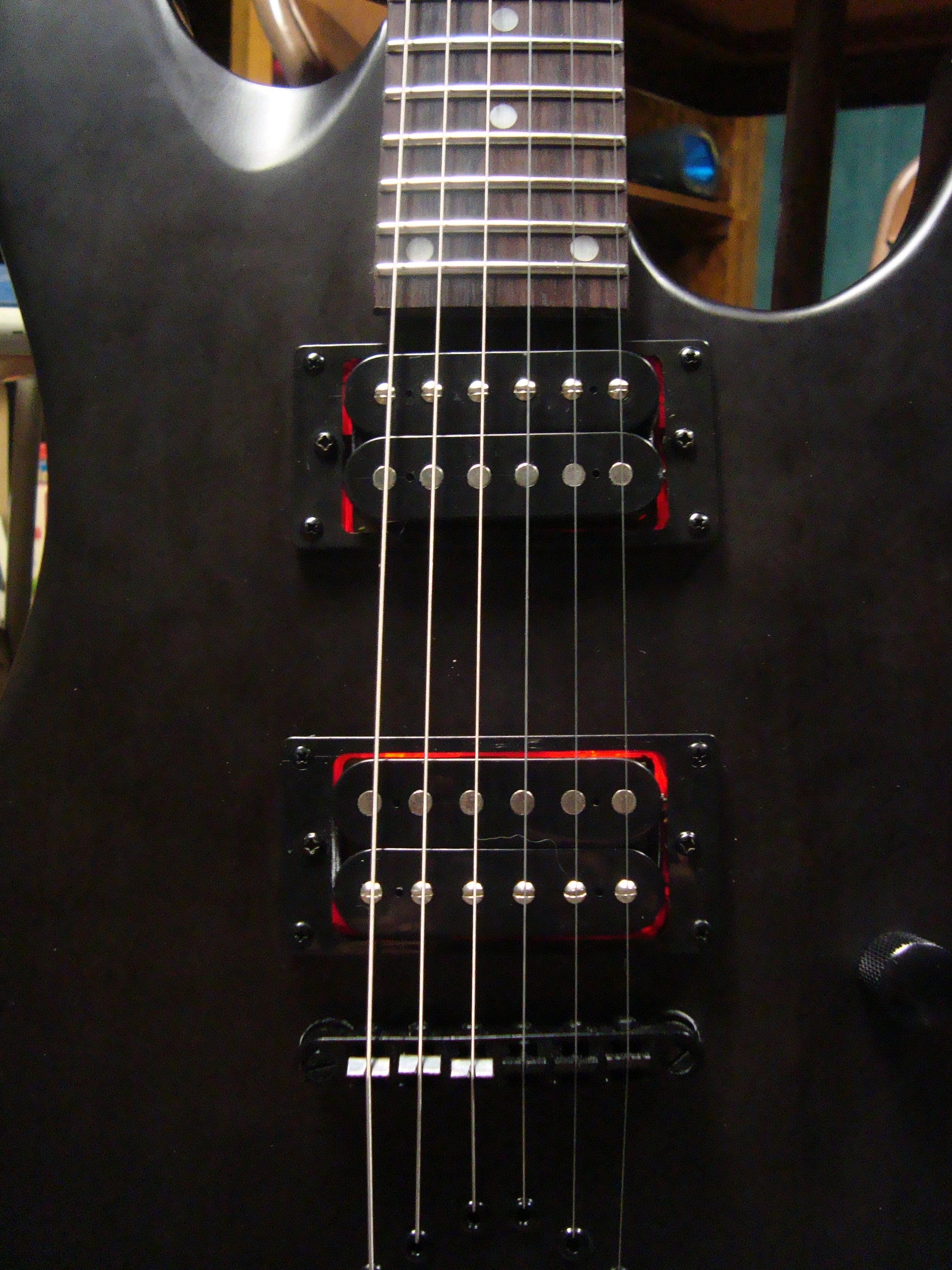 Led Electric Guitar Pickup Mod *** Updated With Schematic for Blinking Leds  and Video!: 8 Steps