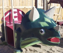 Dinosaur for Your Swing Set!