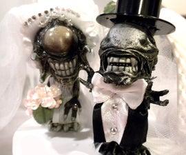 Alien & PredAlien Cake Topper