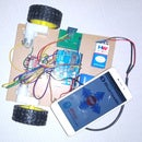 """Bluetooth""""Android App"""" Controlled Robot Car"""