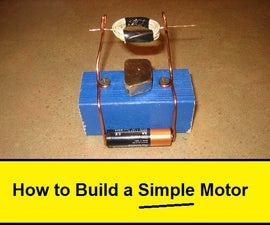 How To Build a SIMPLE Motor