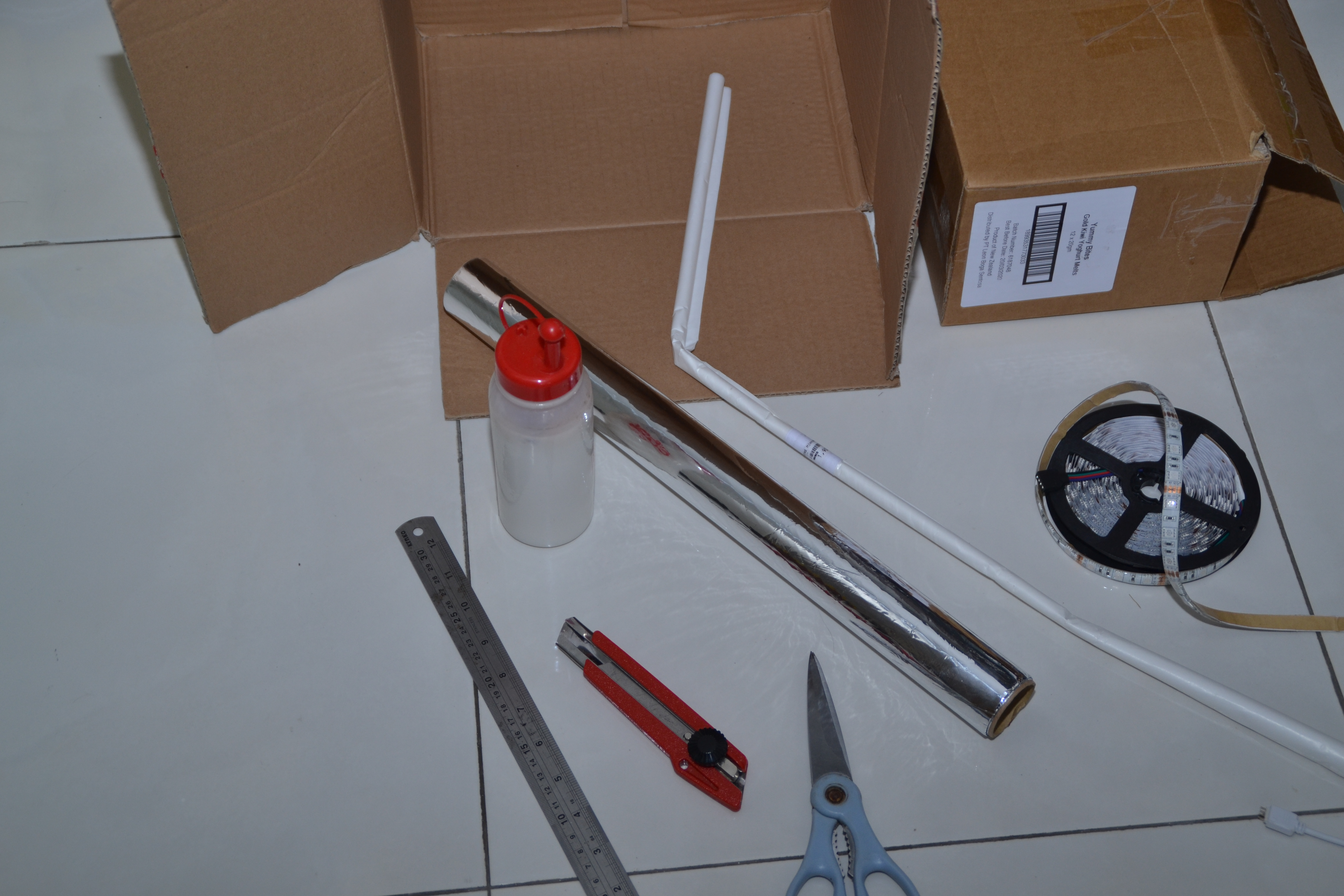 Picture of Building the Box Version: Parts