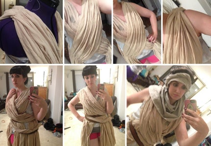 Making the Dress