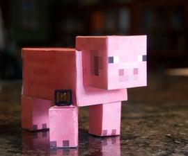 Fill a Minecraft Pig with Minecraft