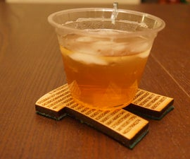 How To Laser-Cut Coasters (For Pi Day!)