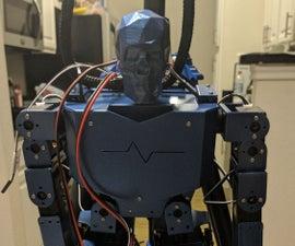 17DOF Bipedal Robot (Raspberry Pi)
