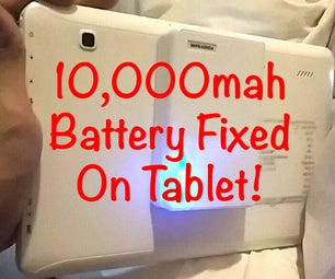 10,000 Mah PowerBank Battery Fixed on Android Tablet!