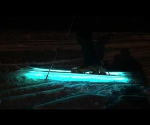 Interactive Arduino Powered LED Skis