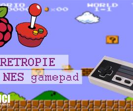 NES Gamepad GIGANTE Para RetroPie
