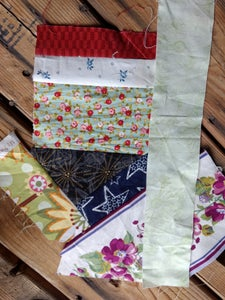 Adding a Larger Strip to Square Off.