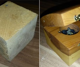 Pallet Wood Treasure Chest - From Ugly to Beauty
