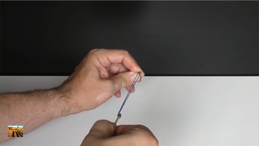 Lighting a Matchstick With a Rubber Band