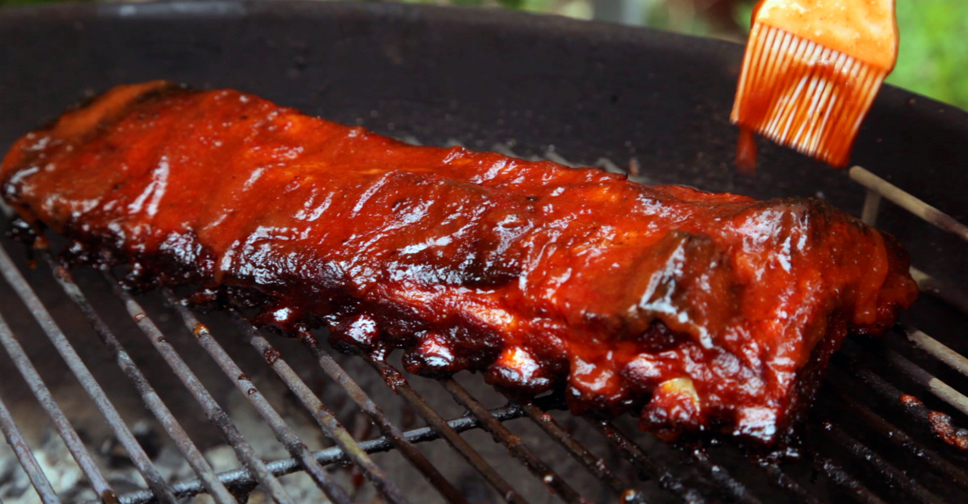 Picture of To Finish Off These Ribs Unwrap Them and Place Them Back in the BBQ.