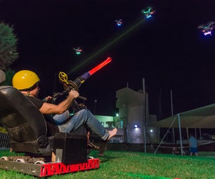 SpacedOut - IRL Space Invaders With Drones