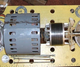 Dismantling a Brook Crompton AC Motor (from a Myford Lathe)
