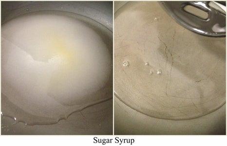 Making of Sugar Syrup
