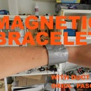 MAGNETIC BRACELET WITH DUCT TAPE