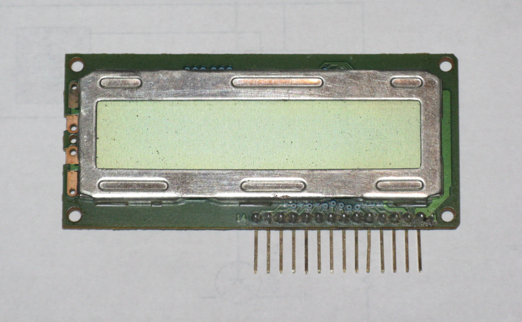 Picture of Pinning Liquid Crystal Displays