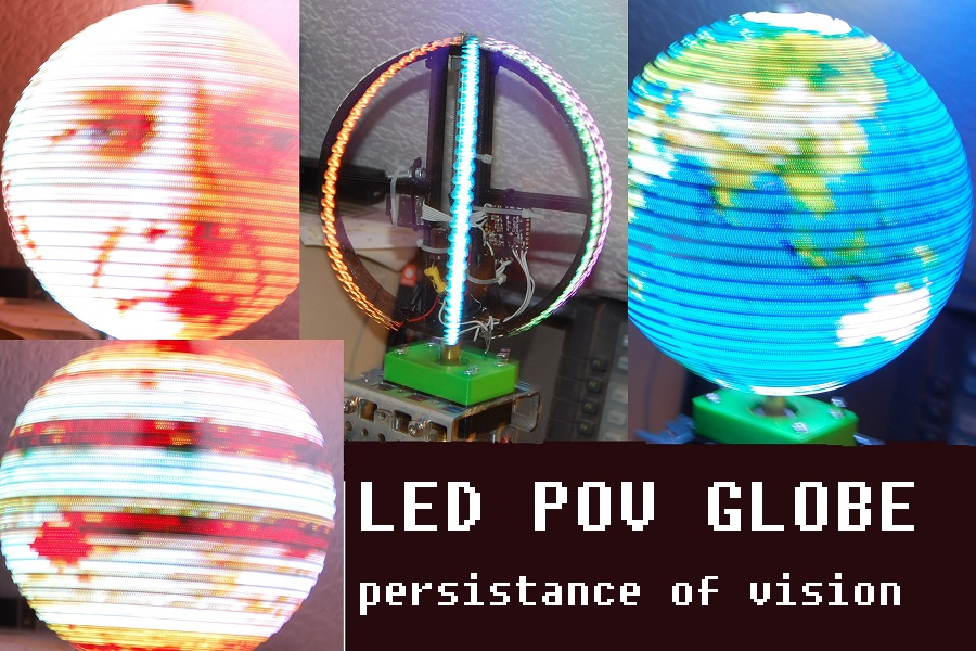 Picture of POV Globe 24bit True Color and Simple HW