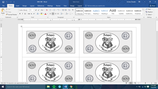 Create Your Potter-Themed Money