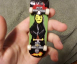 how to put homemade graphics on a tech deck