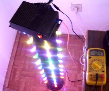Mounting LED Pixels