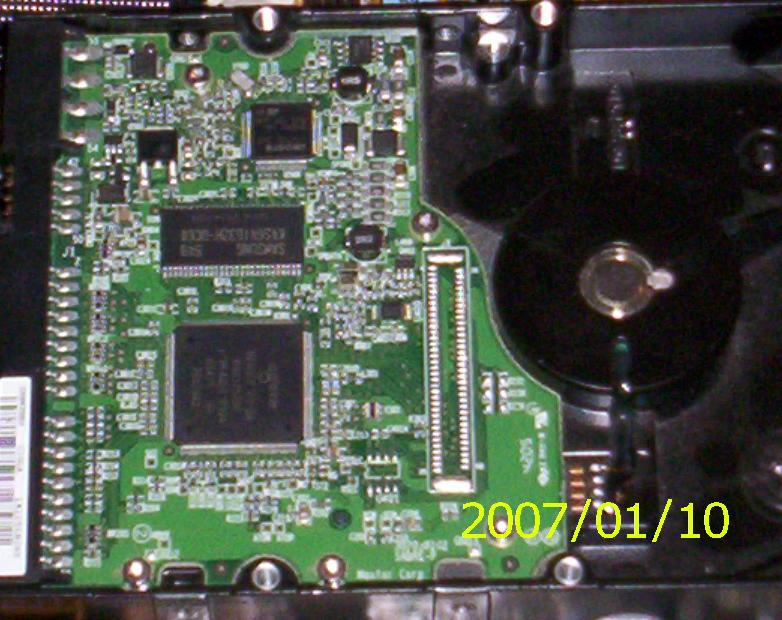 Picture of Fixing a Maxtor Hard Drive