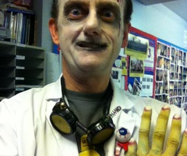 Evil Mad Scientist Costume