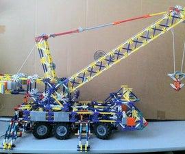 K'NEX Mobile Crane Truck v.4