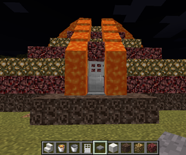 Nether Lava Flow House